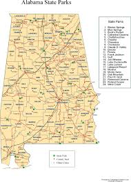 Usa Interstate Map by Alabama Outline Maps And Map Links