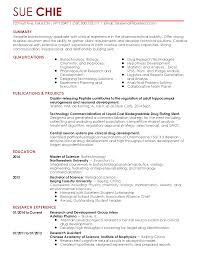 Phlebotomy Resume Examples by Cover Letter Examples Biotech Example Good Resume Template Biotech