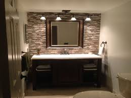 traditional bathroom lighting ideas faucet under the large