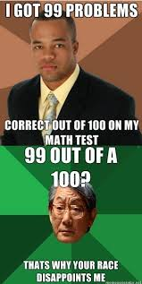 Asian Dad Meme Generator - i got 99 problems correct out successful black man high