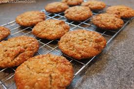 anzac biscuits peanut buttered