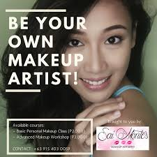 makeup artistry classes makeup class in cainta rizal certified airbrush and hd makeup