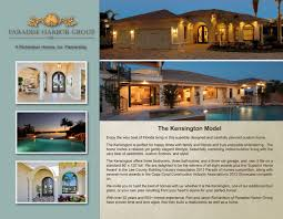richardson homes paradise harbor group kensington model