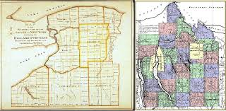 Map Of The State Of New York by 1806 U2013 The Military Tract Of Western New York Brian Altonen Mph Ms