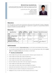 Sample Executive Chef Resume by Deepaks Resume 2015 Docx 3pgs