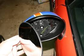 door mirror glass replacement mini cooper 2001 to 2006 how to replace side wing mirror