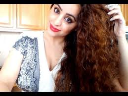 can hair be slightly curly or wavy my simple curly hair routine for natural curly wavy hair youtube
