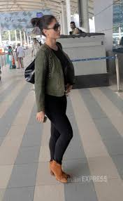 buy boots mumbai kareena kapoor stylish as always in black jeggings boots and
