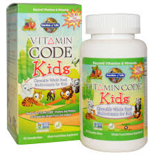 garden of life vitamin code kids chewable whole food