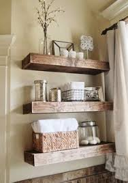 shelves in bathrooms ideas this tiny bathroom got a big ol countrified makeover faux