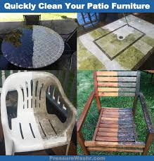 How To Clean Patio Chairs 5 Cleaning Projects Made Easy With A Pressure Washer
