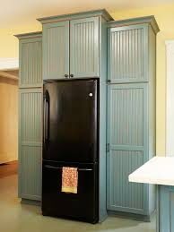 how to make your fridge look like a cabinet built in refrigerator better homes gardens