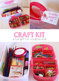 Homemade Gifts For Friends by Craft Kit Mama Papa Bubba What A Great Gift Idea For Kids Who