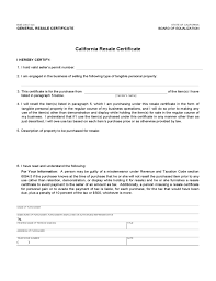 ca resale certificate template gallery certificate design and