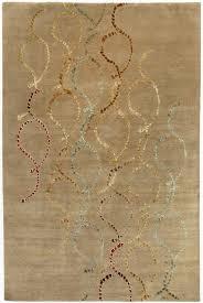 modern rugs silk swirl rug