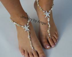 starfish barefoot sandals foot jewelry bracelets necklaces anklets by jewelrybyangel on etsy