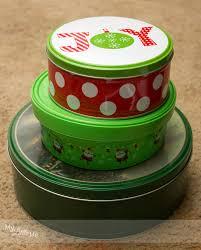 christmas tins christmas gift idea supply christmas tree my me