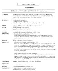 to civilian resume template to civilian resume template templates for veterans canadian