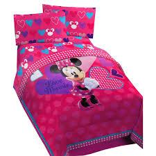 boutique girls bedding minnie mouse twin bedding set vnproweb decoration