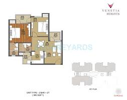 2 bhk 850 sq ft apartment for sale in oasis venetia heights at