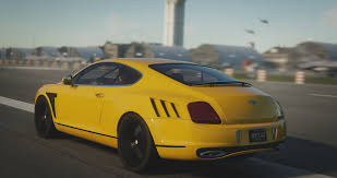 bentley yellow bentley continental gt3 the crew car wallpaper no 472633