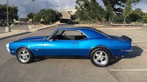blue 68 camaro 1968 chevrolet camaro ss resto mod s135 2015