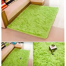 amazon com super soft modern shag area anti slip rugs living room