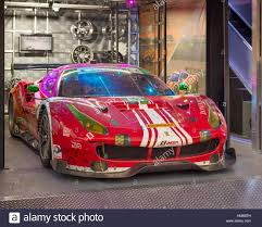 ferrari 488 modified ferrari 488 gt3 race car at sema stock photo royalty free image