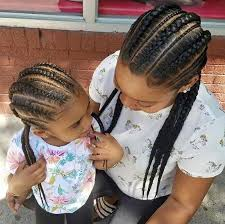hairstlye of straight back 40 braids for kids 40 braid styles for girls