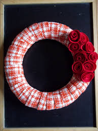 Homemade Christmas Wreaths by Handmade Christmas Series Red Wreath U2013 Quiver Full Of Blessings