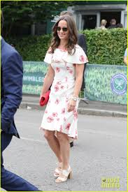 pippa middleton turns heads at wimbledon photo 3693738 james