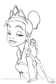 Princess Frog Coloring Pages Coloring Home Princess And The Frog Colouring Pages