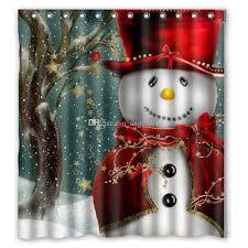 christmas tree snowman santa claus design of polyester fabric