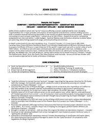 Resume Sample Template by Contractor Resume Haadyaooverbayresort Com