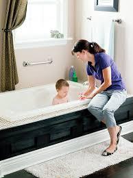 Designer Grab Bars For Bathrooms Moen R8924 24 Inch Bathroom Grab Bar Stainless Towel Bars