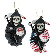 sons of anarchy grim reaper mold ornament set kurt s adler
