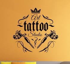 tattoo wall art ebay tattoo shop logo vinyl decal tattoo salon parlor wall sticker wall art decor 3ts