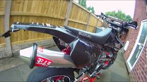 suzuki drz 400 sm walkaround 2 drift hd 170 07 12 youtube