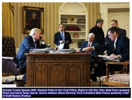 Oval Office Desk by Donald Trump Making A Phone Call With Vladimir Putin While U2026 Flickr