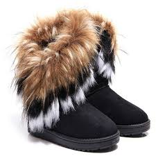 s boots with fur s faux fur winter boots national sheriffs association