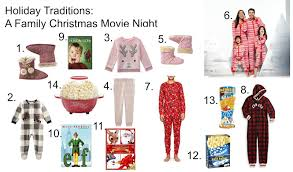 holiday traditions a family christmas movie night kelsey diane