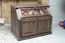 Glass Gun Cabinet Amish Made Custom Gun Cabinets The Wood Loft Amish Custom Made