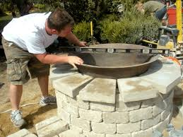 Cast Iron Firepits by How To Create A Sugar Kettle Fire Feature How Tos Diy