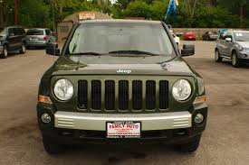 jeep patriot 2009 for sale 2009 jeep patriot 4x4 limited green suv sale