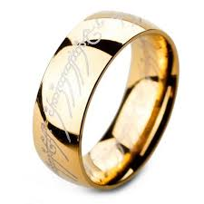 the one ring wedding band lord of the ring the one ring