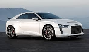 sporty audi audi kills quattro sports car in favor of crossover coupe report