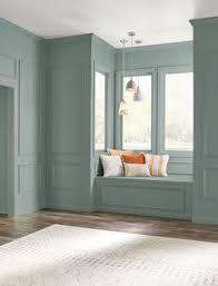 vintage living room paint color ideas bright blue walls and