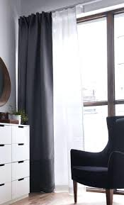 Curtains That Block Out Light White Curtains That Block Light Layering A Black Out Curtain With
