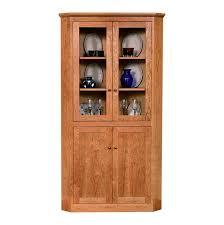 new england shaker corner cabinet vermont woods studios natural
