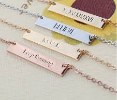 customized necklace copy of inspirational quote customized necklace mondesire